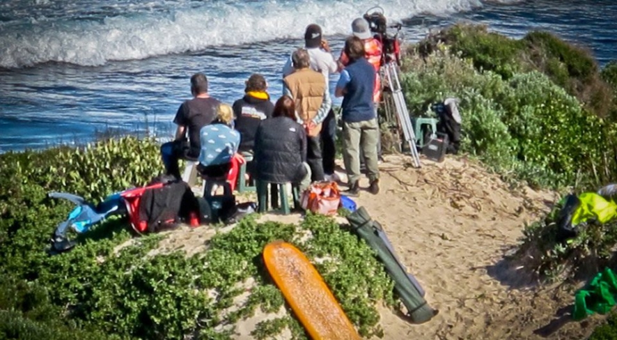 Filming the Surf Movie Drift