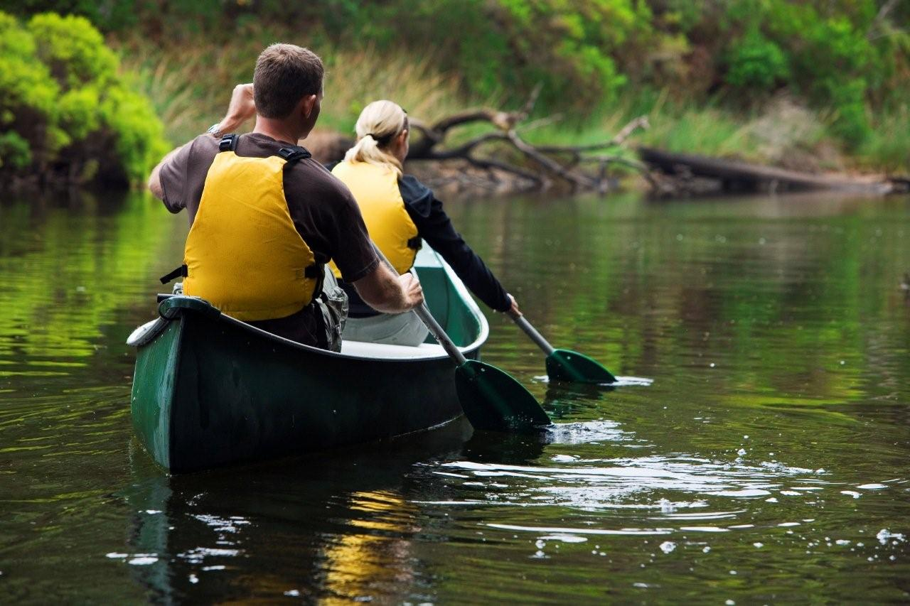 Canoe Tour on the tranquil Margaret River