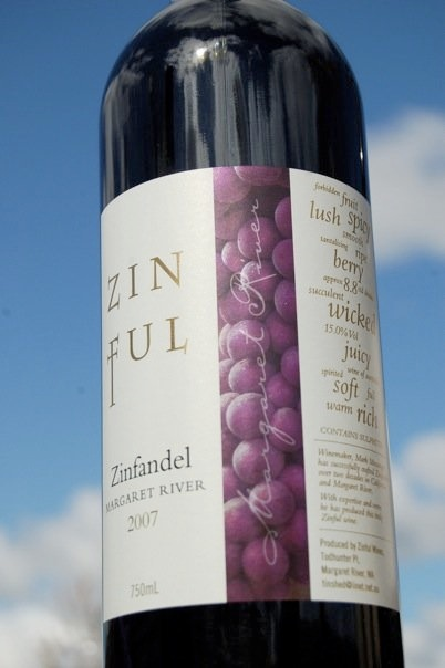 Zinful bottle image