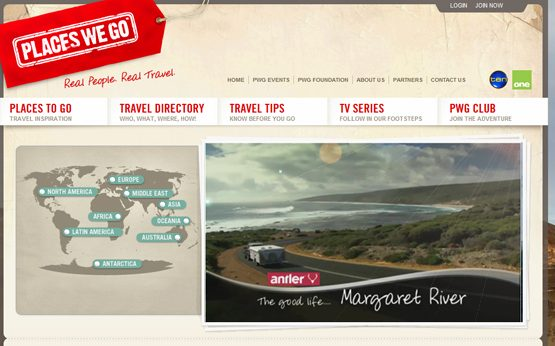 Places We Go visit Margaret River.
