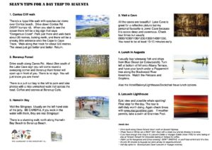 Top 5 things to do in Augusta Margaret River